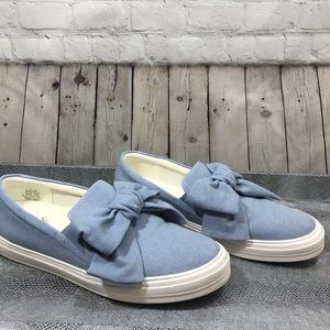 Nine West Onosha Denim slip-on sneakers size 11M